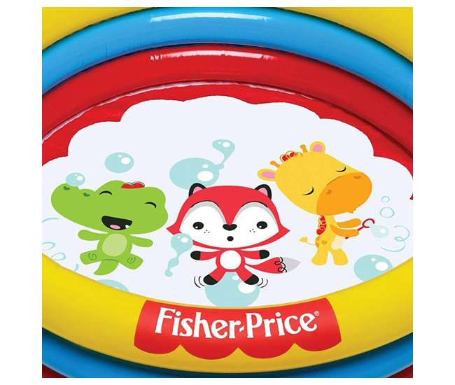 93501E-BW Fisher Price 3-Ring Ball Pit Pool