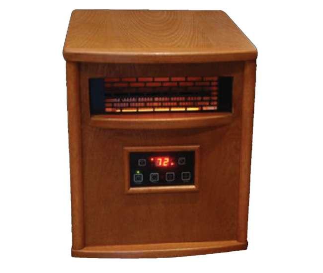 RB-LS-500-1WPLifesmart LS-500-1WP 1500W Infrared Quartz Electric Heater (Refurbished)