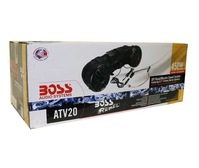 ATV20 Boss ATV20 6.5-Inch 450W 2-Way ATV/Marine Dual Speaker System (Pair)