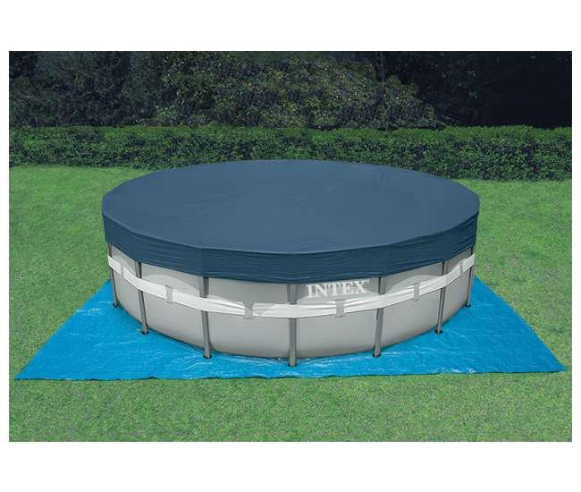 Intex 18 39 x 52 ultra frame swimming pool set w sand pump saltwater system 28335eh for Intex swimming pools clearance