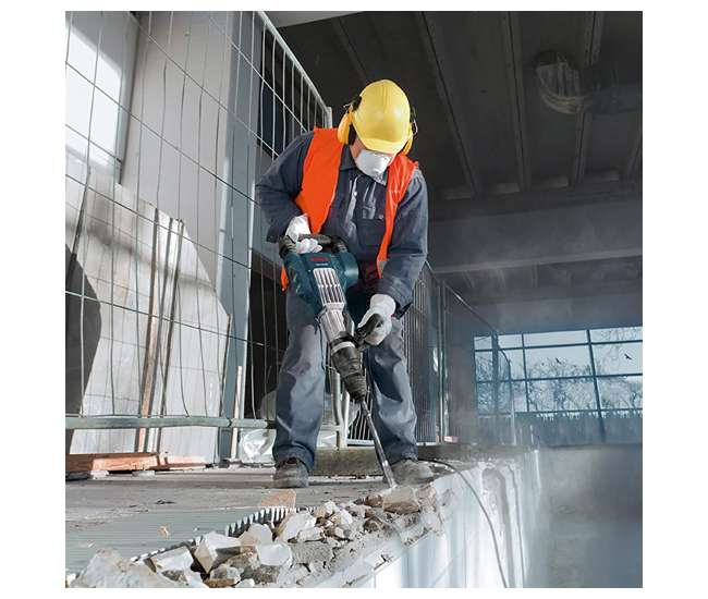 DH1020VC Bosch DH1020VC Variable Speed Inline Demolition Hammer with 15 Amp and 1,700 BPM