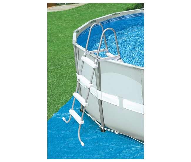 how to set saltwater pool intex
