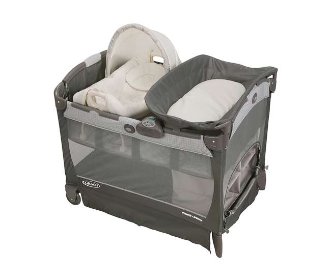 1927564-U-A Graco Pack 'n Play Playard with Cuddle Cove Removable Seat, Glacier   1927564