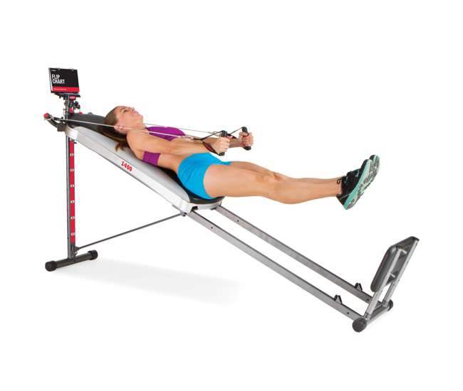 Total gym deluxe home exercise machine r