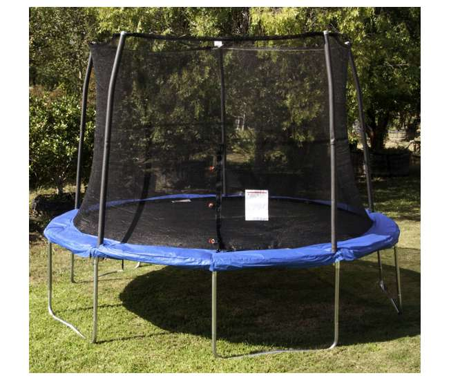 JumpKing 12-Foot Trampoline And Safety Net Enclosure Combo