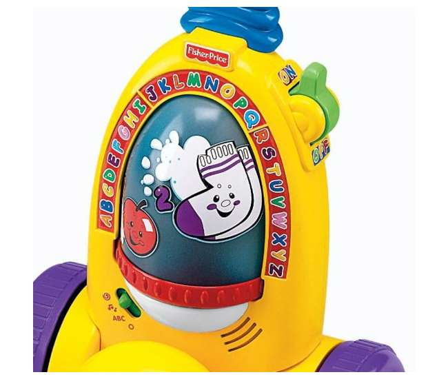 K7164 Fisher Price Laugh & Learn Learning Vacuum Cleaner   K7164