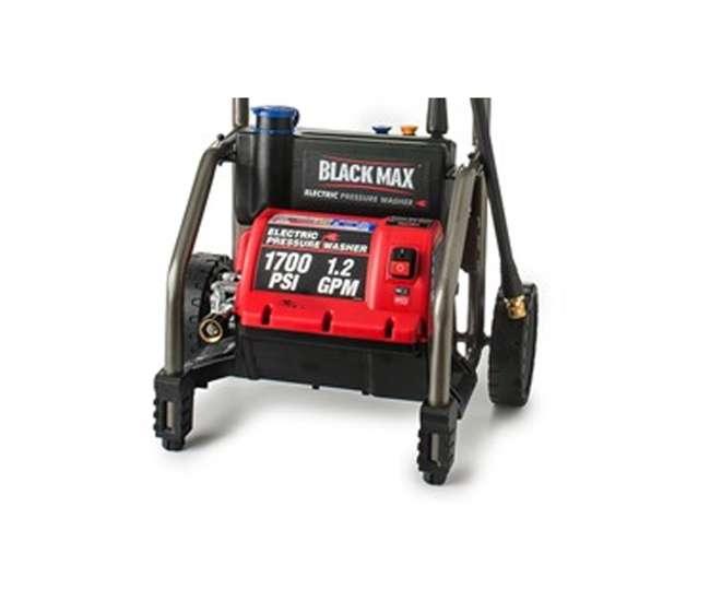 Black Max 1700 Psi 1 2 Gpm Electric Pressure Power Washer