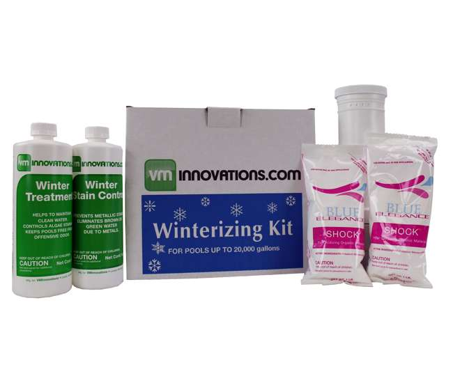 Swimming Pool Winterizing Chemical Closing Kit Up To 20 000 Gallons Closekit 20k