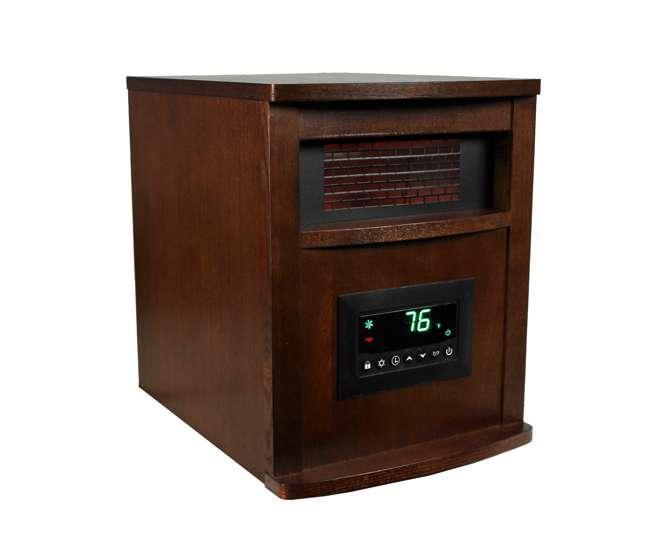 LS-1000HHLifeSmart LifePro 6 Element 1500W Electric Infrared Heater