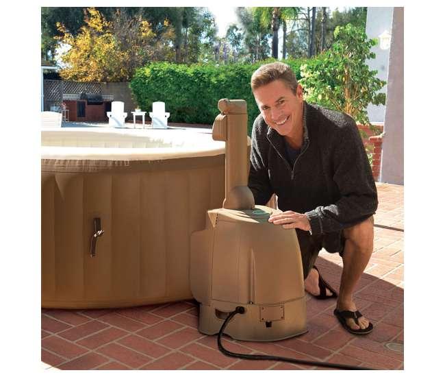 28403EIntex Pure Spa Inflatable 4 Person Hot Tub