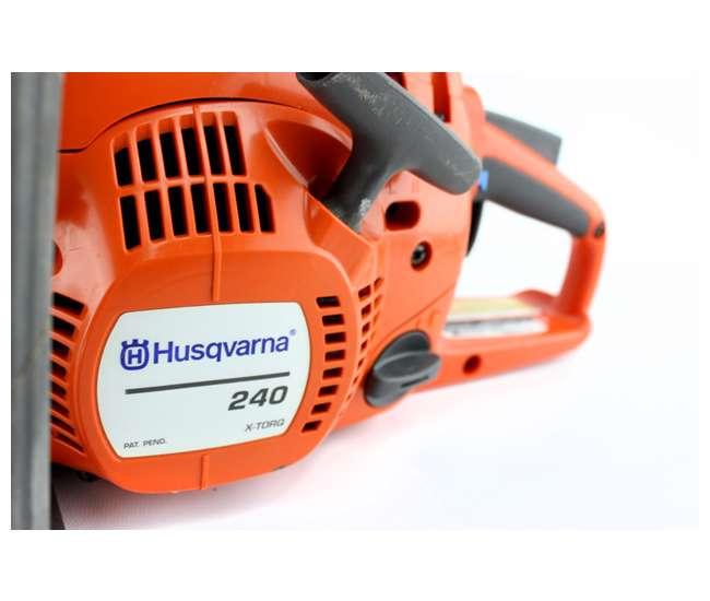 "240-18-BRC-RBHusqvarna 240 18"" Gas Powered Chainsaw (Refurbished)"