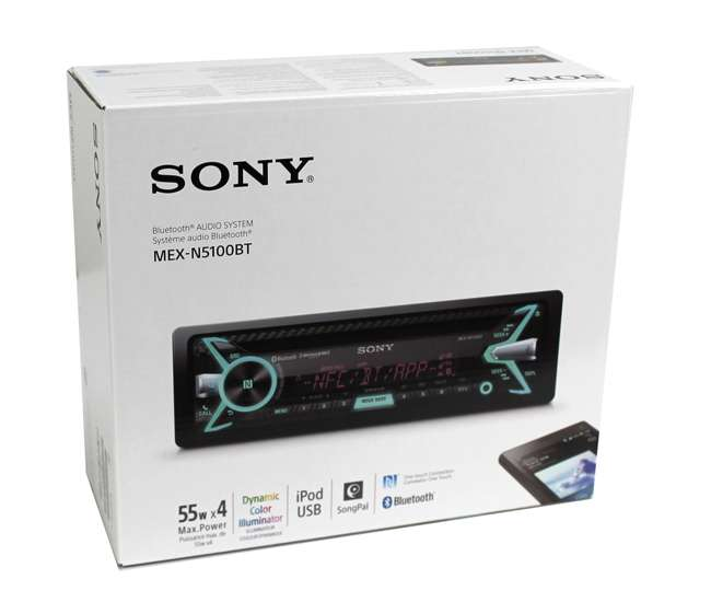 Sony Cd  Mp3 Bluetooth Receiver