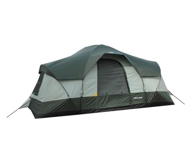 TGT-OLYMPIA-10-U-A Tahoe Gear Olympia 10-Person Family Camping Cabin Tent (Open Box)(2 Pack)
