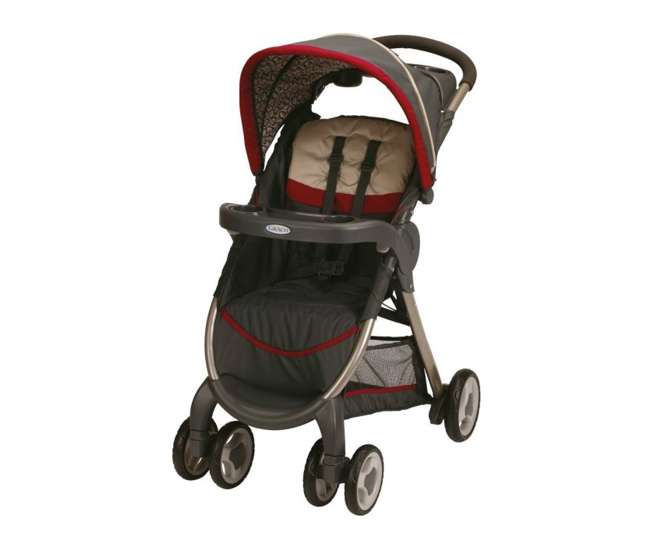 1843903 Graco FastAction Baby Stroller & SnugRide Infant Seat Travel System | 1843903