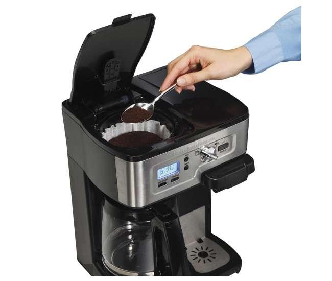 49983Hamilton Beach FlexBrew K-Cup 1-12 Cup Coffeemaker