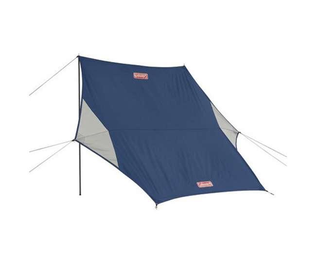 Coleman Sun Shade : Coleman pole sun shade rain shelter wind block hybrid