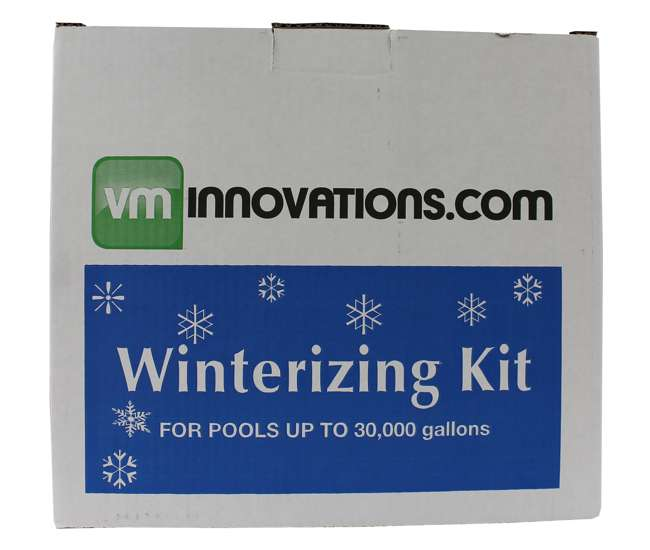 Swimming Pool Winterizing Chemical Closing Kit - Up to 30,000 Gallons