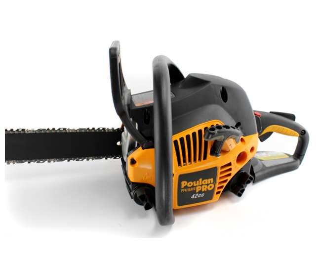 "PP4218AVX-RB Poulan Pro 18"" 42cc Gas Chainsaw (Refurbished) 