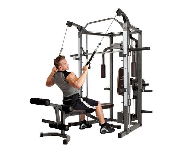 Marcy combo smith strength home gym machine sm