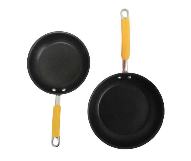 19442-YELLOWRachael Ray 10-Piece Cookware Set - Yellow   19442-YELLOW