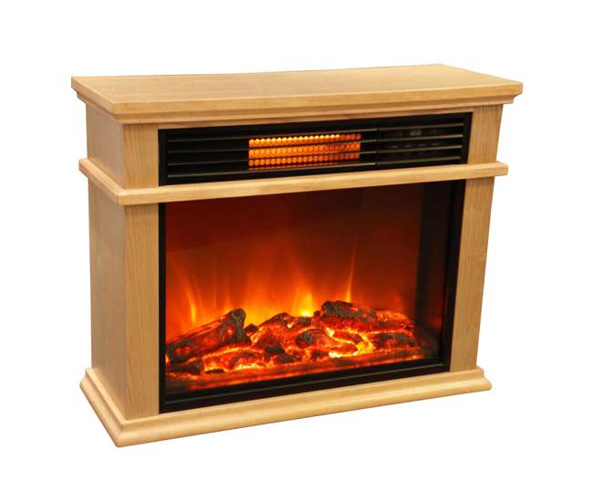 Lifesmart Lifepro 1500w 3 Element Infrared Fireplace