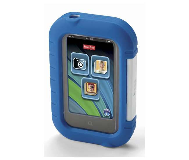 X4105 Fisher Price Kid-Tough Apptivity Play Case for Apple iPhone & iPod - Blue | X4105