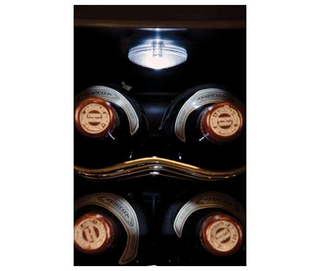 Haier 12 Bottle Thermoelectric Dual Zone Countertop Wine