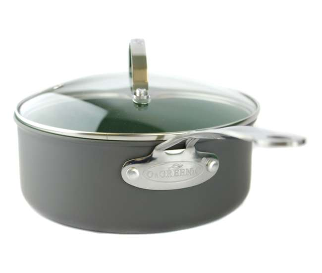 TEL6110 Orgreenic 10-Piece Ceramic Non Stick Kitchen Cookware