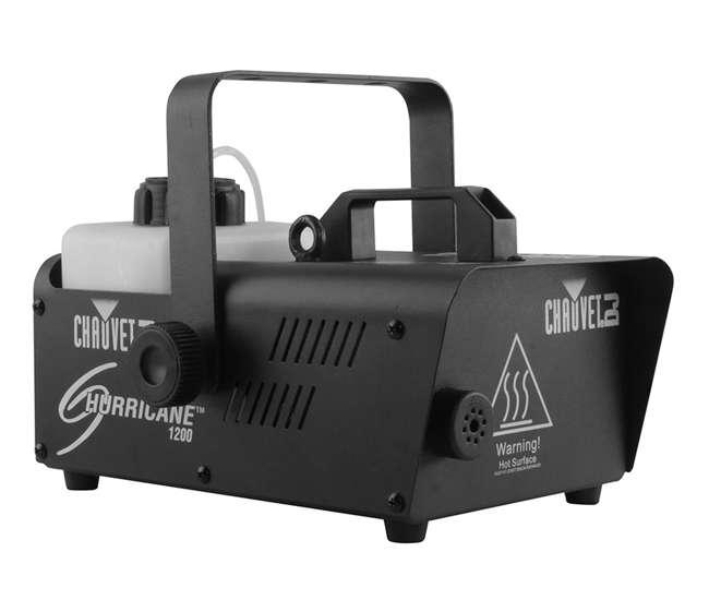 H1200 + H700 + FJU CHAUVET DJ Hurricane 1200 1.0 L Fog Machine + H700 Fog Machine + Fog Smoke Juice