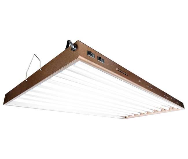 Nettrendy Light Fixtures : ... FLP48 Designer T5 432W 4 8-Tube Grow Light Fixture  (Refurbished