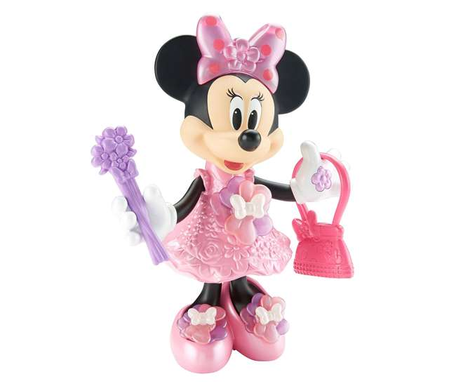 DMC76 Fisher Price Disney 10-Inch Minnie Mouse Bloomin' Bows Minnie