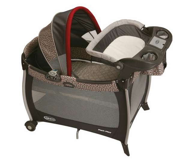 Graco Silhouette Pack N Play W Canopy Changer Amp Music
