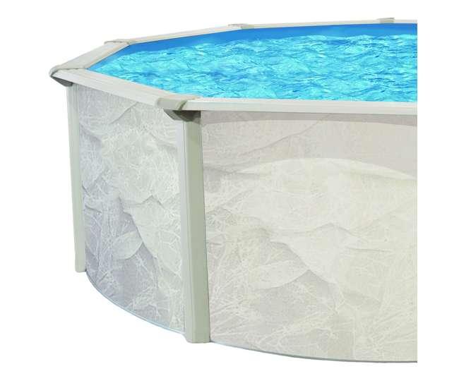 Cornelius pools phoenix 18 x 4 3 foot steel above ground pool ecrc00185t for Phoenix swimming pool white city