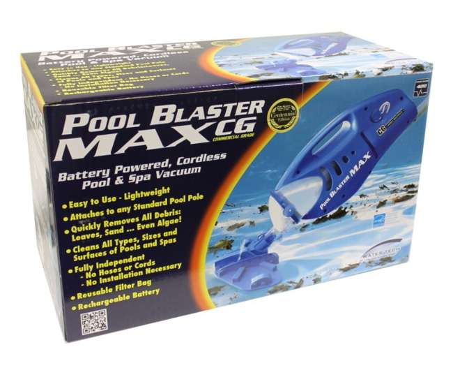 watertech pool spa blaster max cg pool handheld cleaner poolbustercg. Black Bedroom Furniture Sets. Home Design Ideas