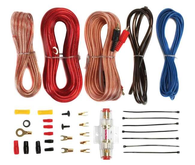 "43C124 + VM12SEALED + AC15001M + AKS8 Kicker 43C124 12"" 600W Subwoofers + Sealed Subwoofer Box + 1500W Amp + Amp Kit (Package)"