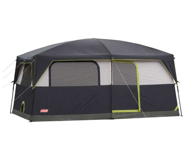 Coleman Stonewall Tent 9 Person Waterproof Family Tent W