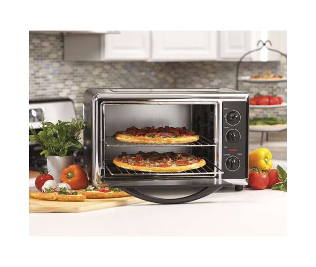 Hamilton Beach Countertop Oven with Convection and Rotisserie : 31100 ...