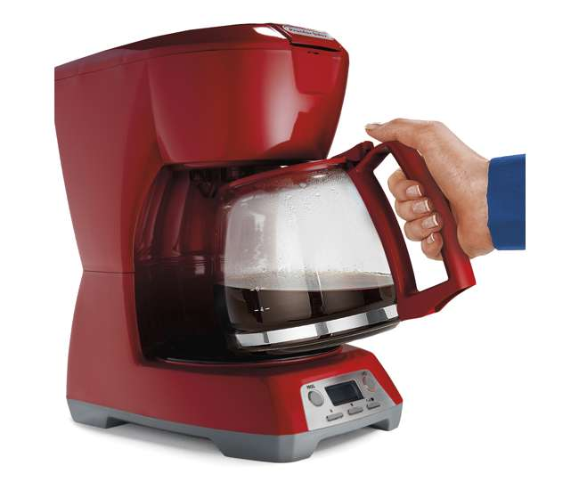 Proctor Silex Coffee Maker Red : Proctor-Silex 12 Cup Coffee Maker, Red : 43673 : VMInnovations.com