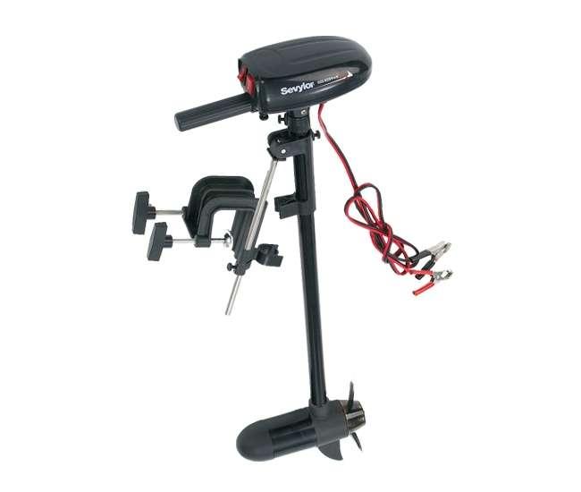 sevylor 12 volt electric trolling motor fishing boat