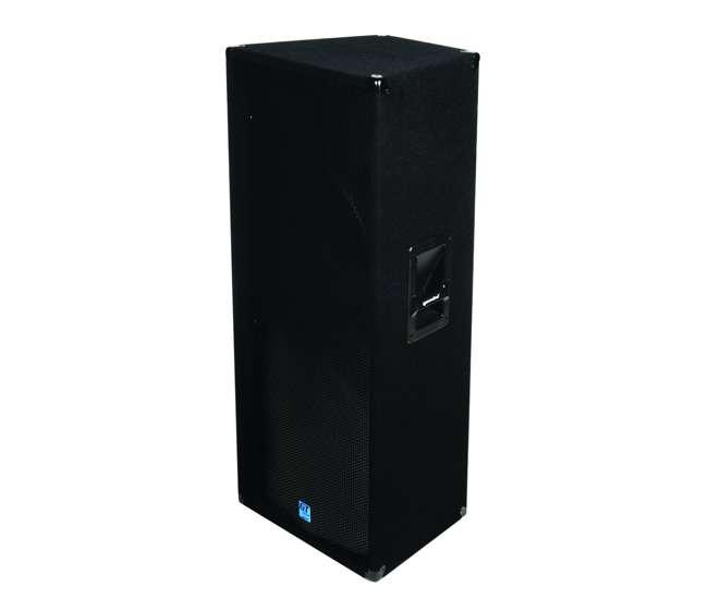 """GT-3004-RBGemini GT-3004 - (2) 15"""" 2400W Portable DJ Dual Trapezoid Club Speakers (Refurbished)"""