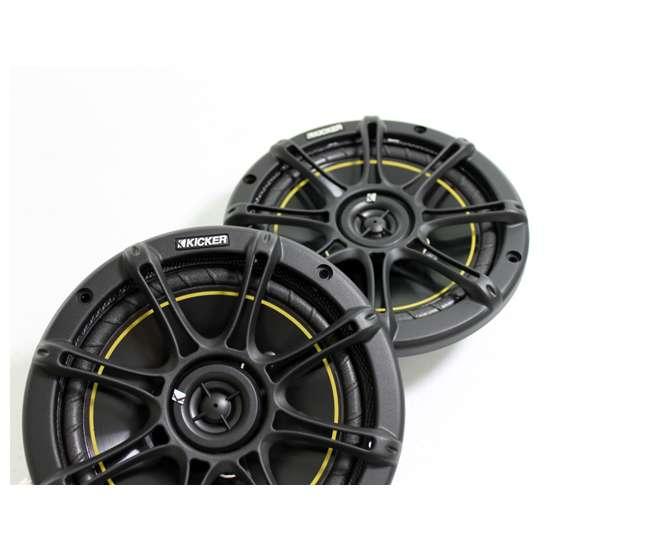 "11DS65KICKER DS65 6.5"" 200 Watt 4-Ohm 2-Way DS Series Car Audio Speakers (Pair)"