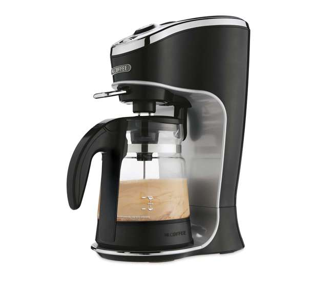 Mr. Coffee BVMC-EL1 Cafe Latte, One Touch 24 Ounce Coffee Frother maker (Refurbished) : BVMC-EL1 ...