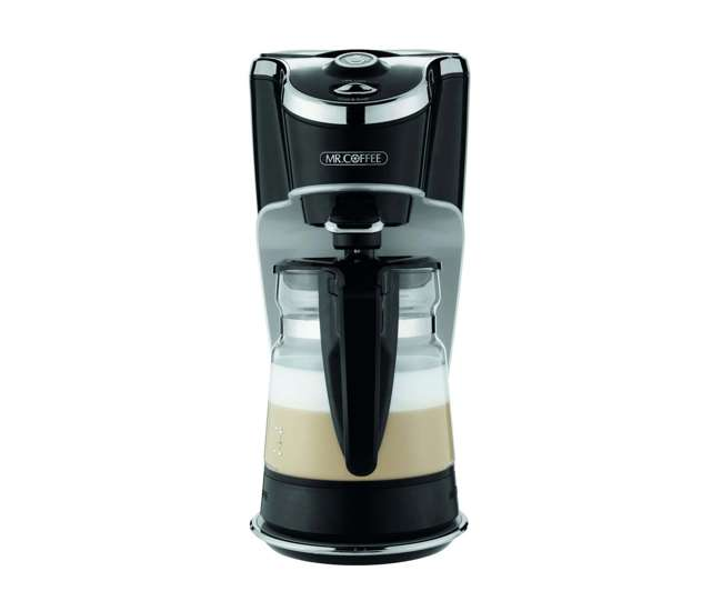 Mr Coffee Latte Maker Clearance : Mr. Coffee BVMC-EL1 Cafe Latte, One Touch 24 Ounce Coffee Frother maker (Refurbished) : BVMC-EL1 ...