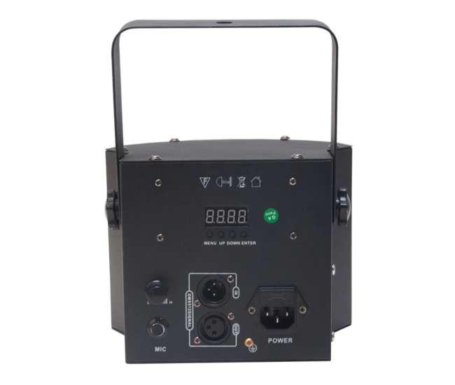 MINI-DEKKER + H700 American DJ Mini Dekker Moonflower Light w/ Chauvet DJ H700 Fog Machine