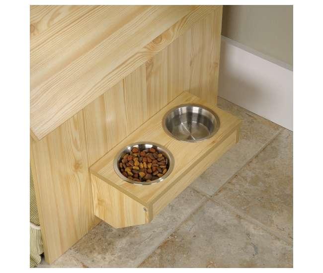 SF-417192 Sauder Furniture Light Pine Indoor Dog House