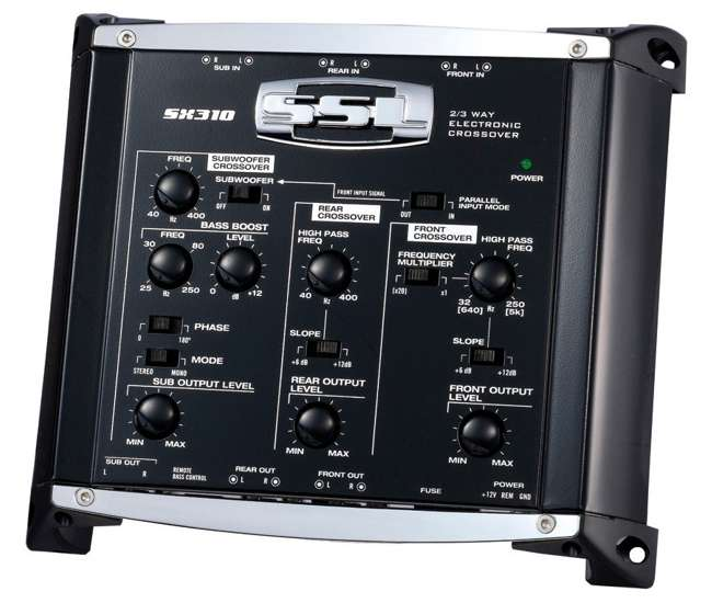SX310Soundstorm SX310 2 Way Electronic Crossover with Remote