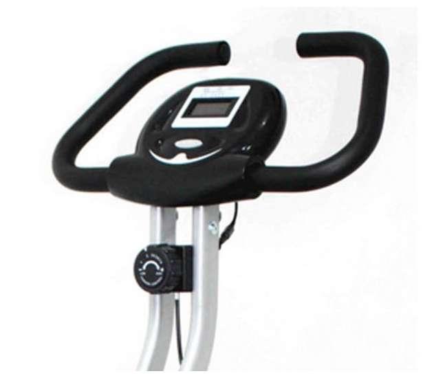 ILIVING Folding Upright Bike W/ Calorie Counter