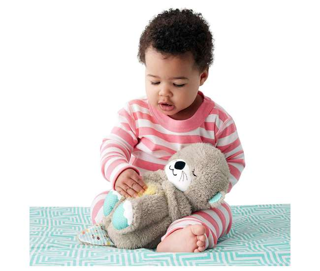 FXC66 Fisher Price FXC66 Infant Baby Plush Bedtime Musical Soothe 'n Snuggle Otter