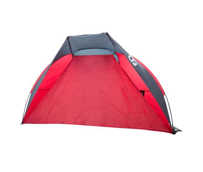 TGT-CRUZBAY-2-RB Tahoe Gear CruzBay Shelter Shade Tent Canopy, Coral Red, Certified Refurbished