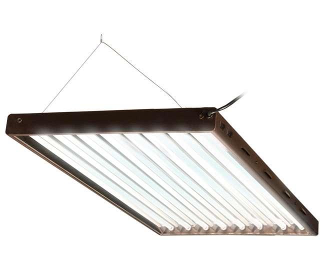 Nettrendy Light Fixtures : Flp48 designer t5 432w 4 8 tube grow light fixture refurbished